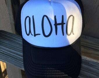 Original ALOHA Trucker Snapback Hat