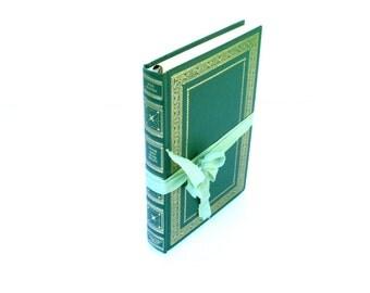 Sense and Sensibility by Jane Austen International Collectors Library Edition, Jane Austen Wedding, Austen Book,  Green Austen Book