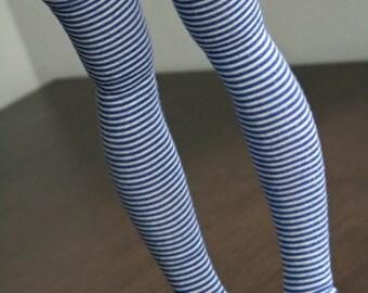 Pair of overknee socks for SD super dollfie Feeple Volks Fairyland Luts Dollzone