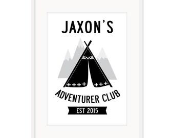 Adventurer Club Custom A3 Poster