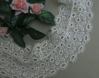 Antique Lace Vintage Lace Collar Cotton