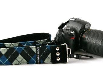 Joey Blue SLR Camera Strap