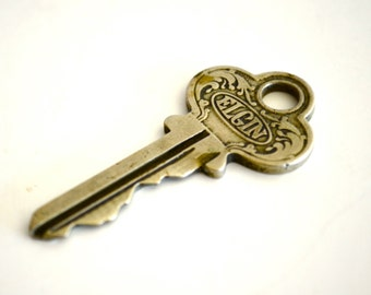 Vintage ELGIN Key Upcycled Jewelry Supplies