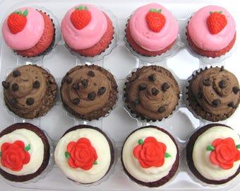 Cupcakes Mini 1 dozen 12 cupcakes