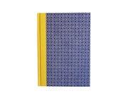 Large Address Book Quatrefoil pattern, blue yellow , A5 Telephone Book