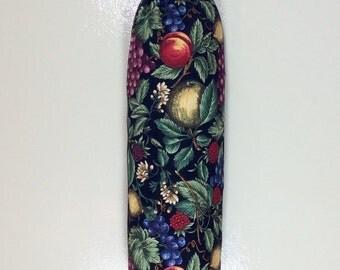 Plastic Bag Holder- Fruits on Black Fabric- Item# PBK -212