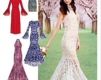 formal dress pattern etsy