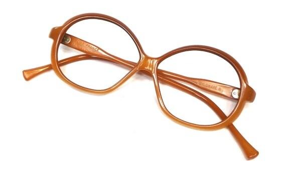 vintage 60s deadstock french designer nylon eyeglasses
