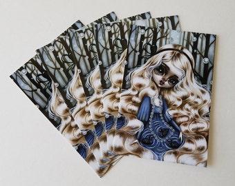 Pack of 5 Postcards-Somewhere Else