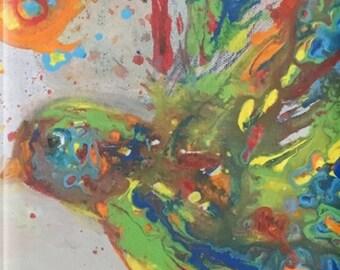 The Color of Peace Dove Art Snap On or Tough iPhone Case, 4s/4,5, SE/5s/5c, 6, 6s, 6s Plus, 6 Plus