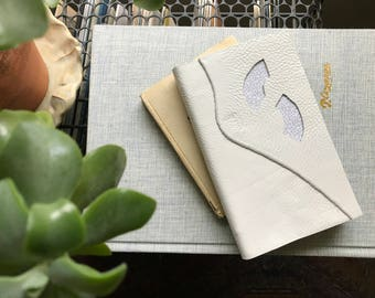 Leather Forms V // Modern Blank Book