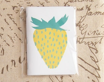 Yellow Berry Pocket Notebook