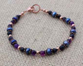 Purple Bracelet for Her
