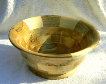 Segmented Wood Bowl #227
