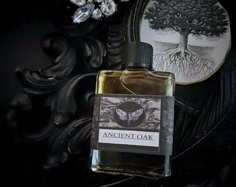 Ancient Oak  Gypsy Alchemy Natural Perfume Oil  1/2 oz Oak Moss,Balsam Peru ,Green Tea , Fig, Vanilla