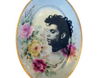 "HUGE Prince Portrait Plate 14.5"""