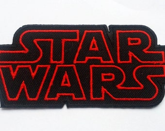 STAR WARS The force awakens Movie Logo TAG Classic Patch Badge B