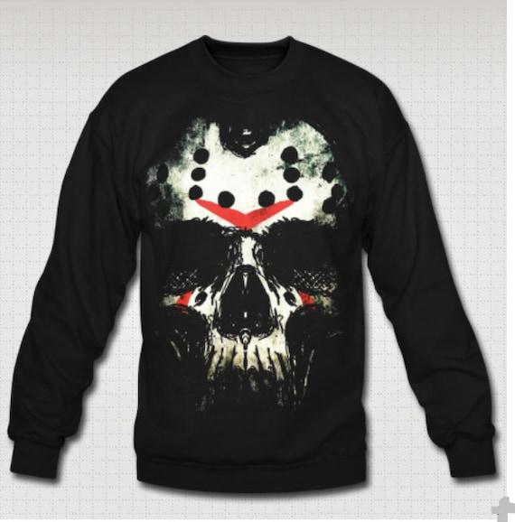 Friday the Thirteenth Jason Skull Sweat Shirt