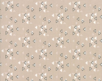 Spectrum Triangles Sand from Spectrum Collection by V and Co for Moda Fabrics