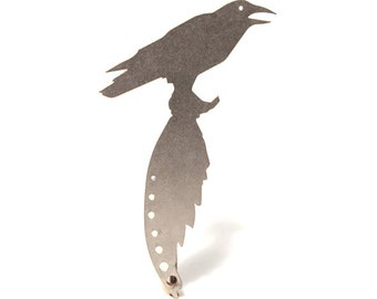 Crow Bottle Opener