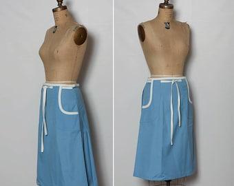 vintage 1970s L.L. Bean wrap skirt