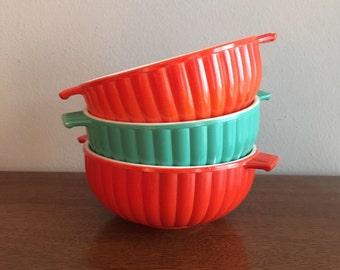 hazel atlas fired on bowls