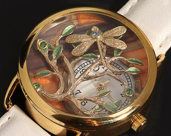Women Watches Steampunk Watch Women Unique Watches Wrist Watch Women Tree Of Life