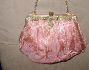 Antique Collectible 1800's Evening Purse