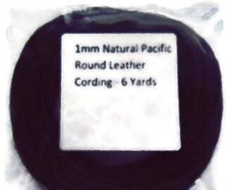 Black 1 mm round cording DESTASH
