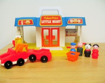 Fisher Price Little Mart with Shopping Cart