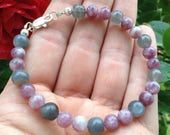 Moonstone and Lepidolite - calming - ease anxiety, depression and insomnia
