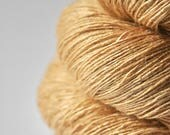Sticky honey OOAK - Tussah Silk Lace Yarn