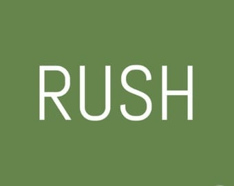 Rush Processing (5-7 business days)