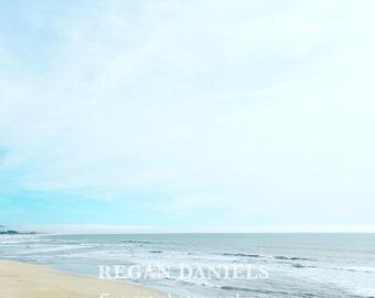 Quiet Beach - fine art photograph - Beach Artwork