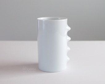 Masahiro Mori Hakusan Japan Biomorphic Fancy Cup Porcelain Tumbler