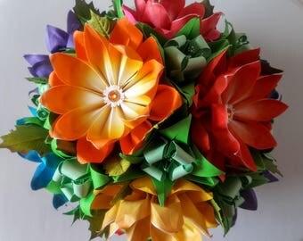 3D origami Flower Ball 3