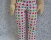 Super Dollfie Yo SD Littlefee Colorful Polka Dot Leggings