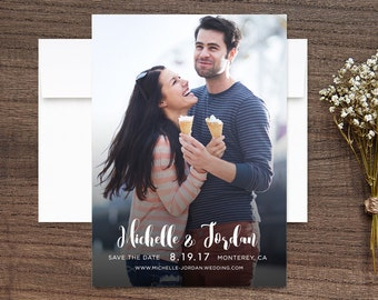 Save the Date Photo Cards Sweet Love