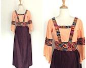 Vintage 1960s Maxi Dress ...