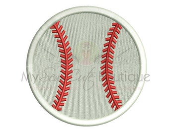 Baseball Embroidery Design - PES Machine Monogram Designs - 19 Sizes - Instant Download