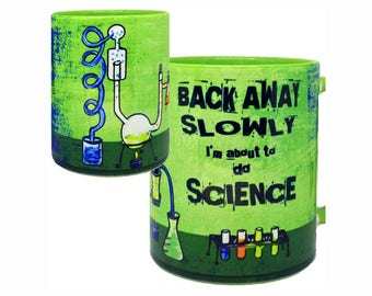 Chemistry Lab Science Green Mug | Funny Mug | Quote Mug