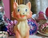 ON SALE Vintage Baby Squeak Toy-Sun Rubber-Ruth Newton-Mobley-1960's-Squeak-Cat-Kitten