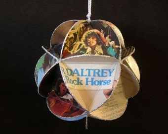 Roger Daltrey Album Cover Ornament Made Of Record Jackets - The Who Band