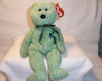 Ty Beanie Baby Shamrock,Stuffed Animals,Bears,Ty Beanie Babies,Collectibles,Toys