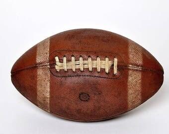 Vintage 1950's Dubow Harry Gilmer Football Sports Equipment