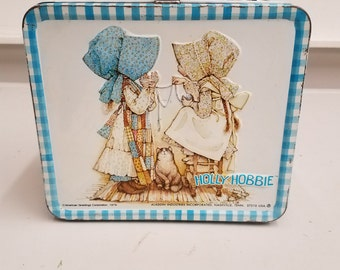 Vintage 1979 Holly Hobbie Metal Lunchbox