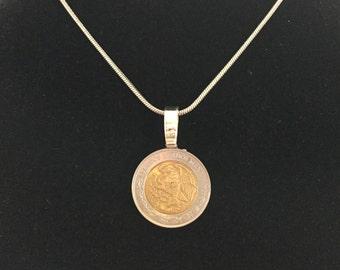 Coin Necklace - Mexicanos