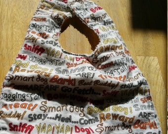 Puppy Love Infant/Toddler Bib Ready To Ship