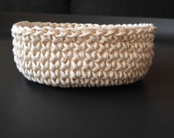 Crocheted String Bowl