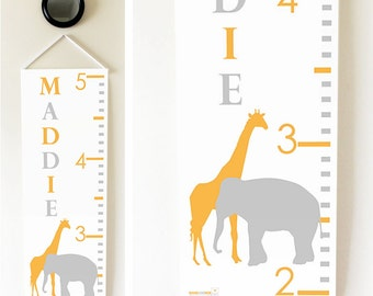 Elephant & Giraffe Growth Chart